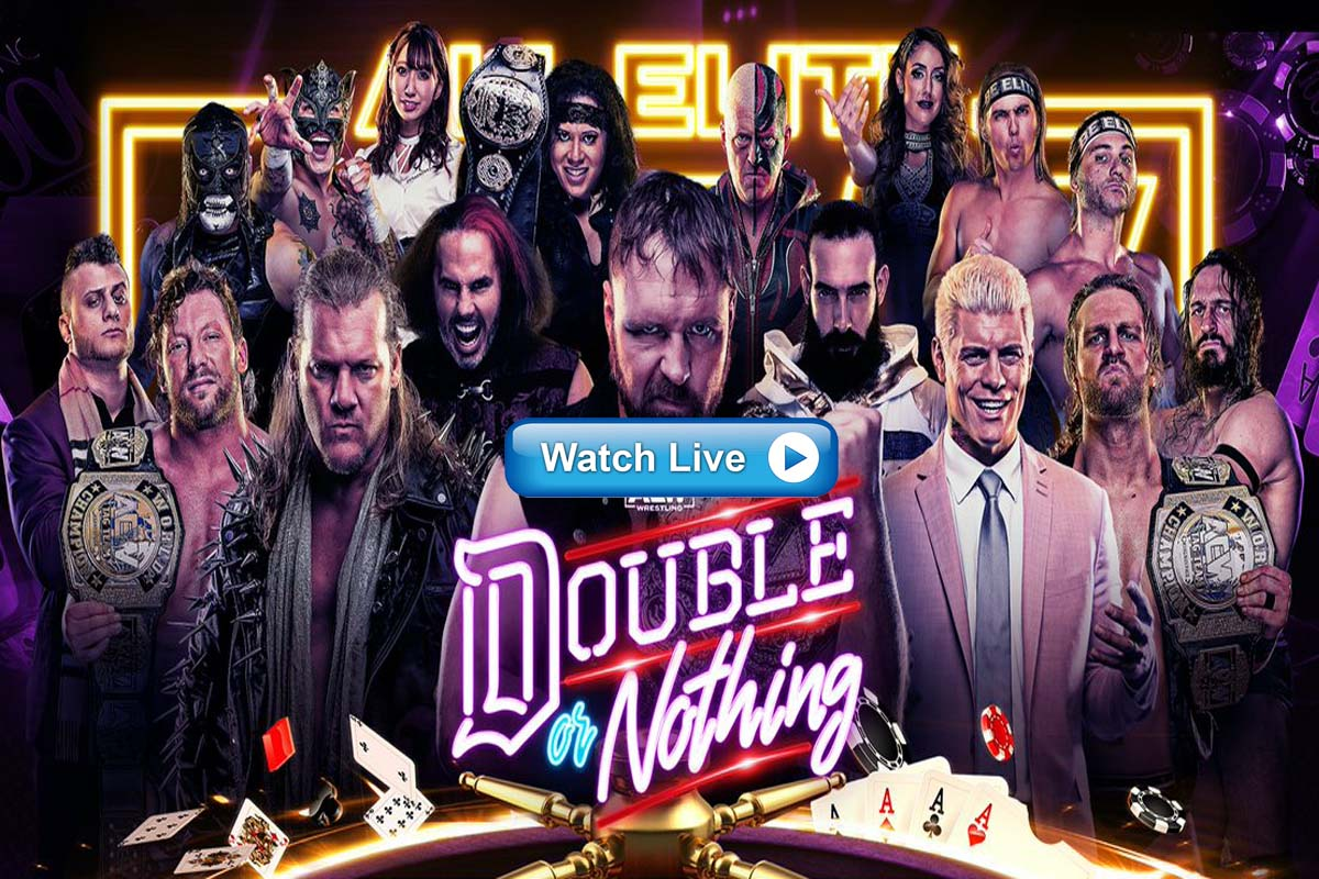 AEW Double or Nothing live streaming Reddit