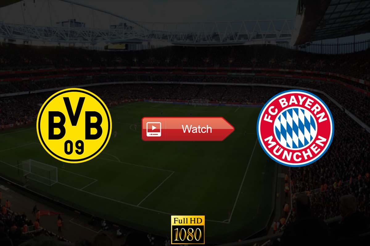 Borussia Dortmund vs Bayern Munich live stream Reddit