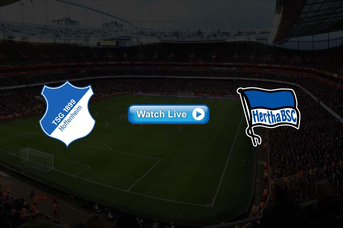 Hoffenheim vs Hertha live streaming Reddit