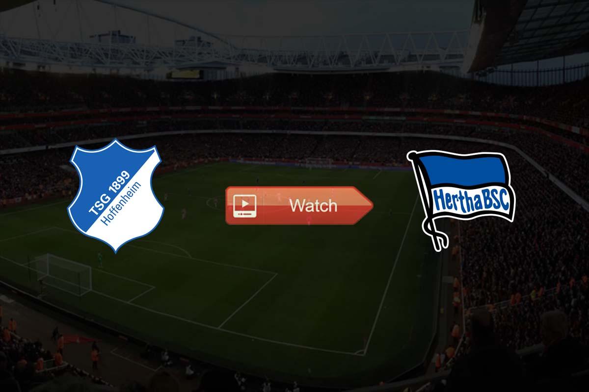 Hoffenheim vs Hertha live stream reddit