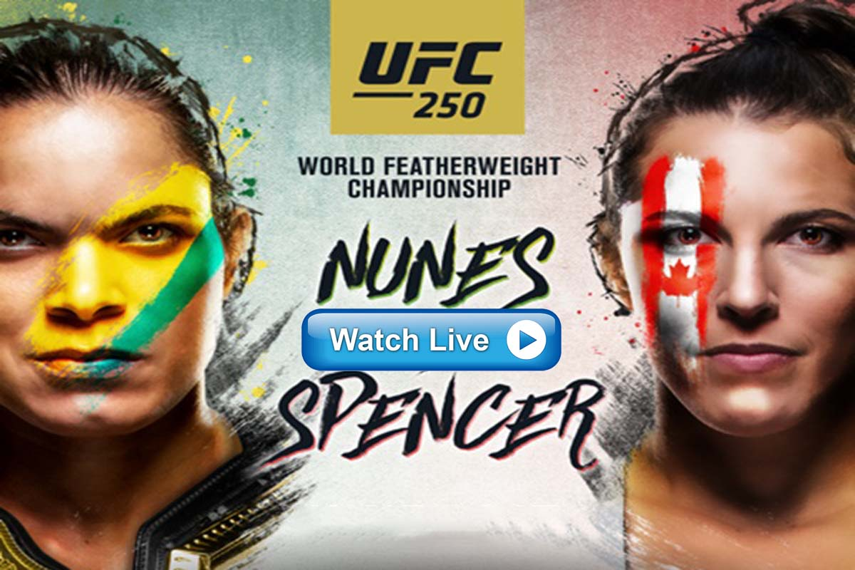 Nunes vs Spencer live stream Reddit