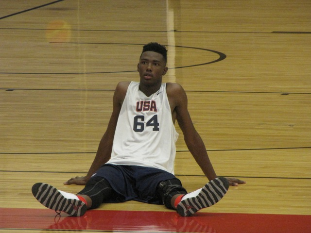 Harry Giles headlines the four high-schoolers chosen as finalists of Team USA's U19 squad. (Photo:  Jim Halley, USA TODAY Sports)