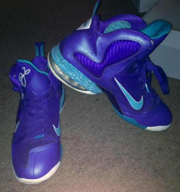 LeBron 9 Hornets