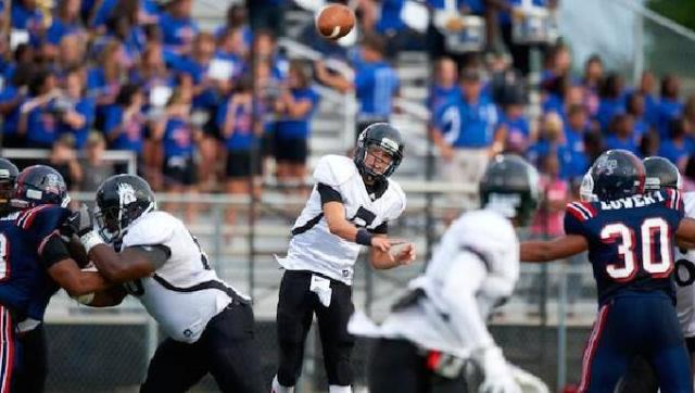 Eastern Christian Academy QB David Sills, once a controversial commitment to USC, is now headed to West Virginia