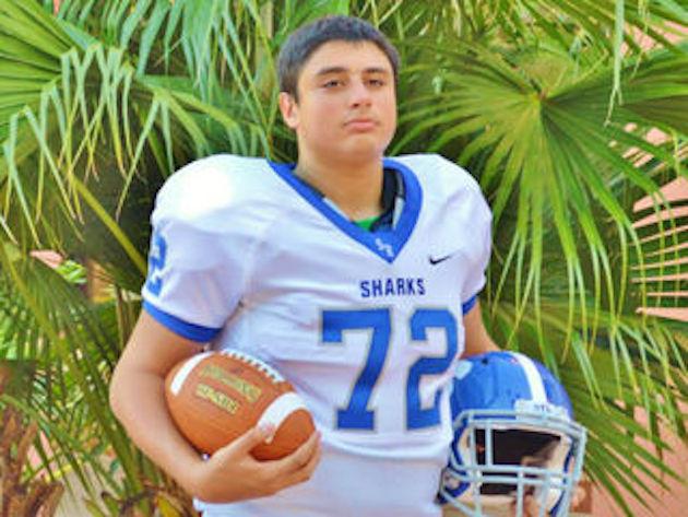 14-year-old William Shogran Jr. died during an off-campus preseason football training camp —WPTV screen shot