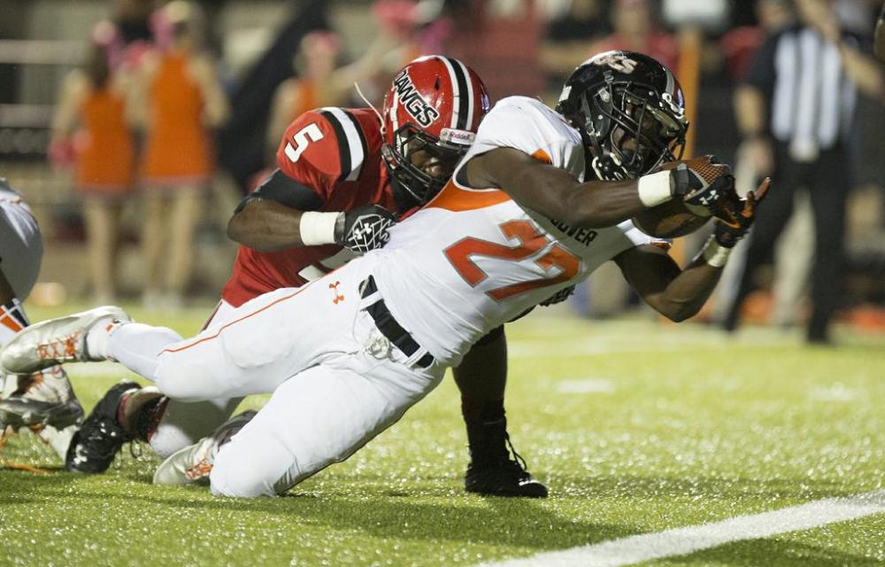 Hoover running back Bradrick Shaw ran for 1,286 yards and 25 touchdowns last season.