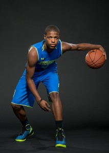 Dennis Smith Jr. said he honed his skills on an outside goal like the one he'll play at in the Elite 24. / Kelly Kline, Under Armour