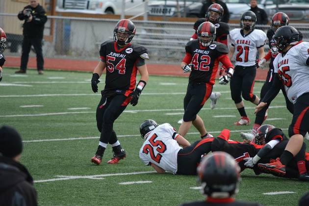 Juneau Douglas knocked off Kenai Central in the Alaska state semifinals in 2013, and the two teams will face off in a competitive scrimmage in early August in 2014 —Facebook