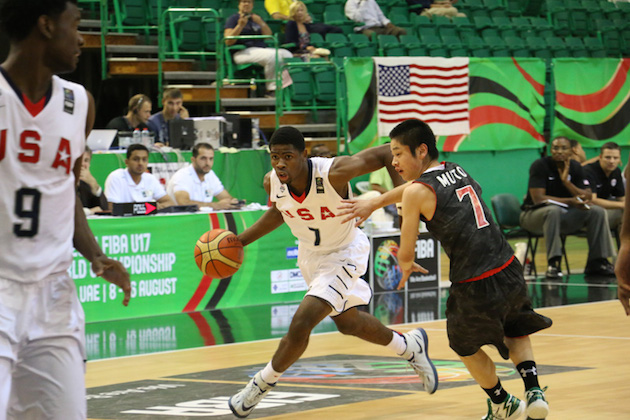 Malik Newman scored 15 points and added 5 rebounds and 6 assists for Team USA in a FIBA U-17 blowout of Japan —USA Basketball