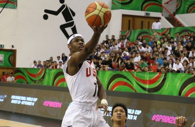 Malik Newman scored a team-high team-high 21 points and earned tournament MVP honors in leading Team USA to the U-17 crown —FIBA