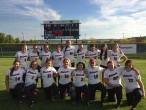 Mt. Spokane's First Slowpitch Softball Team, 2013. Photo courtesy of Mt. Spokane High School Athletics