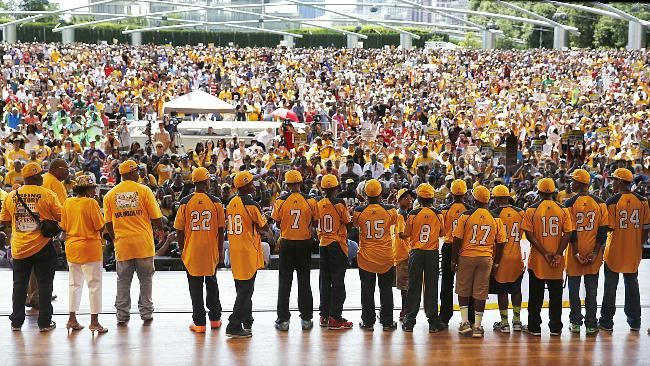 Jackie Robinson West's Little League All-Stars were so popular that they sold more than $165,000 worth of t-shirts at a Dick's Sporting Goods —Associated Press