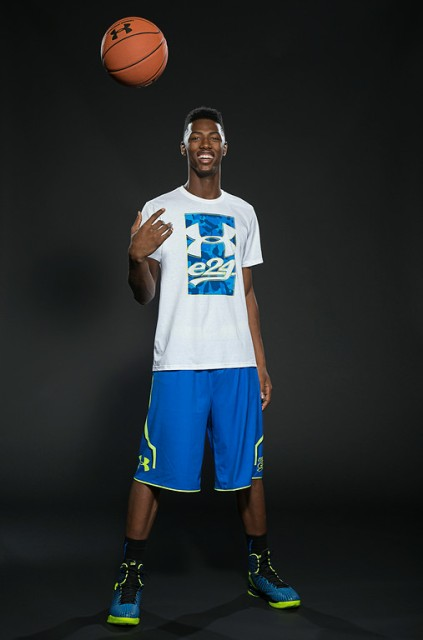 Harry Giles III is looking to lead CP3 All Stars to a perfect record in Minneapolis. / Kelly Kline/UA