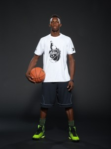 Kwe Parker wants to change his identity on the court from dunker to player. / Kelly Kline