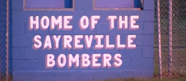 Sayreville's football program suddenly and surprisingly had its entire football season cancelled by officials amidst a widespread hazing investigation —CBS New York screen shot