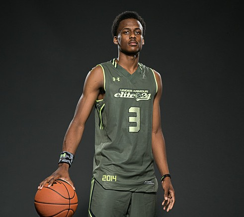 Antonio Blakeney's New Year's resolution for hoops is to, among other things, win a state title. / Kelly Kline