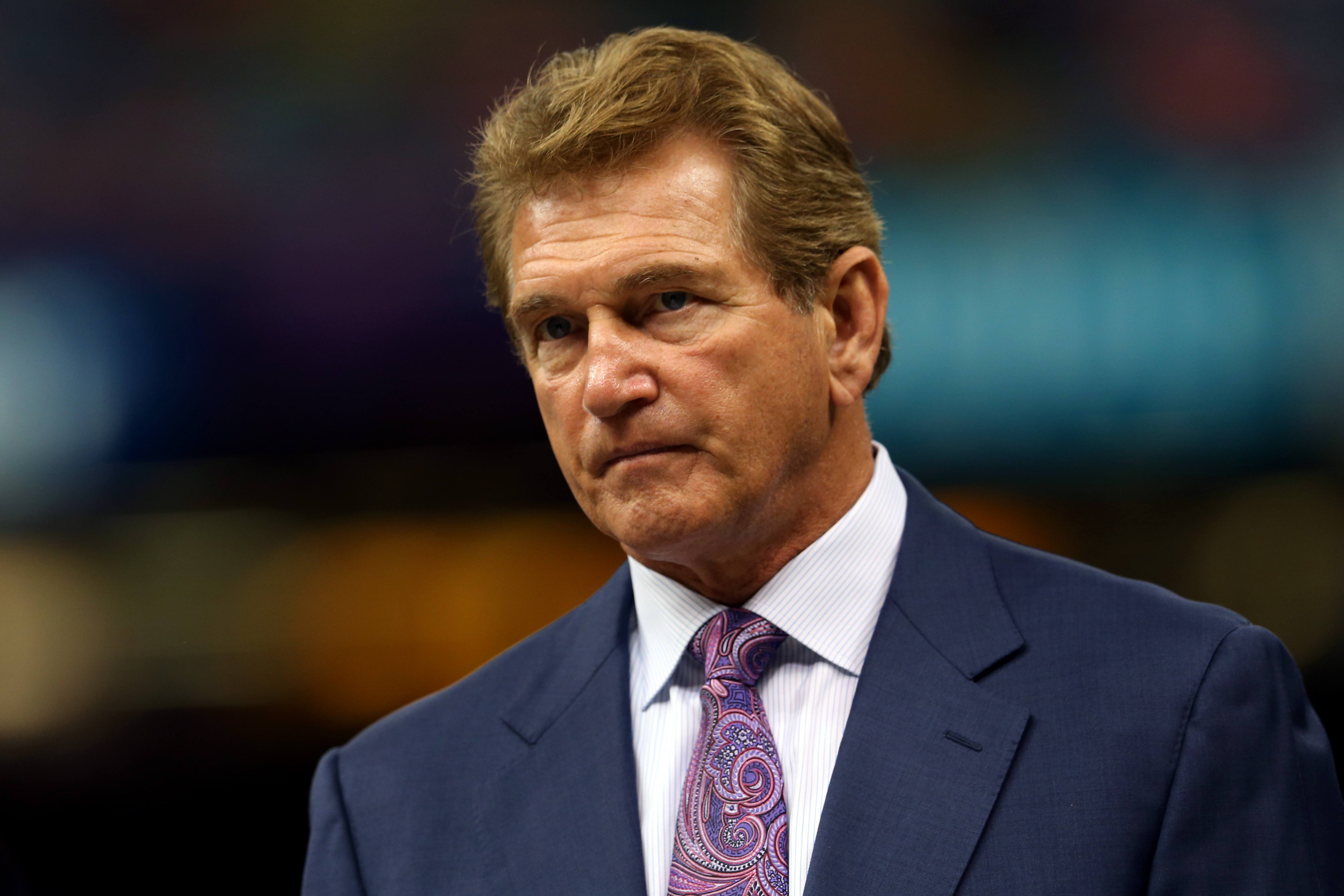 Former professional football player Joe Theismann. / Mike Ehrmann, Getty Images