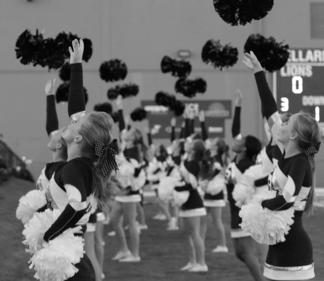 Competitive cheerleading is now an officially recognized sport in California