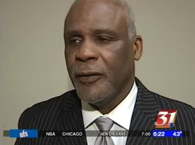 Former University of Illinois and longtime Illinois high school coach Wayne McClain — WMBD video screen shot
