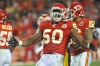Kansas City Chiefs linebacker Justin Houston was a star point guard in HS. / USA Today Sports