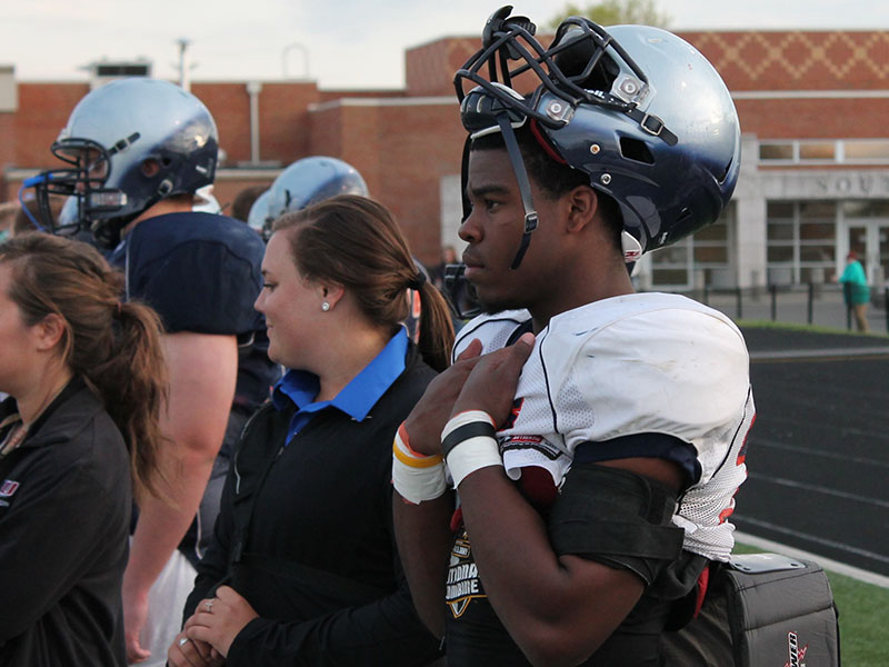 Damien Harris? focus is on his high school senior season.   Detroit Free Press