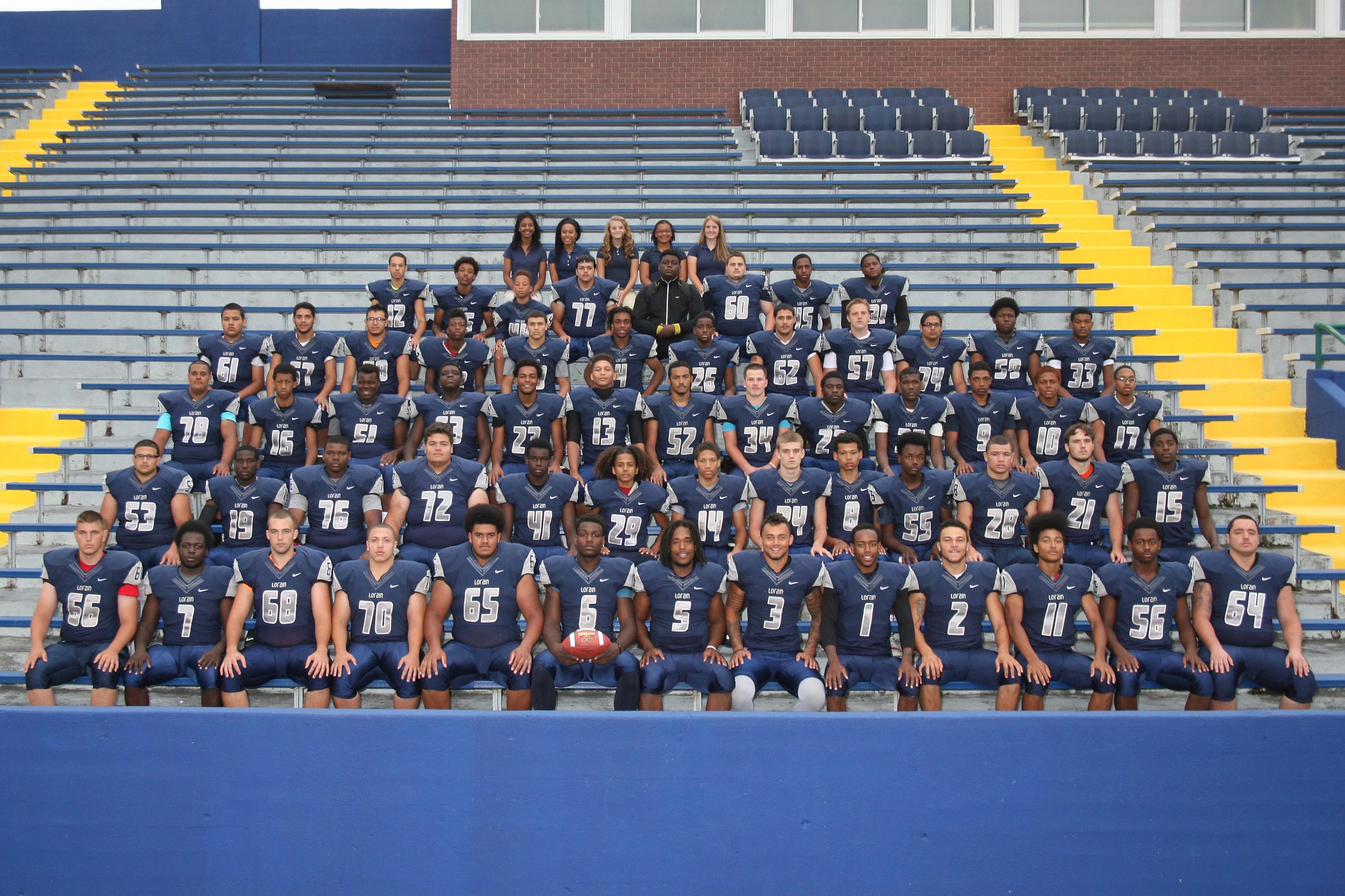 2014 Lorain High School varsity football team / Photo courtesy Lorain High School