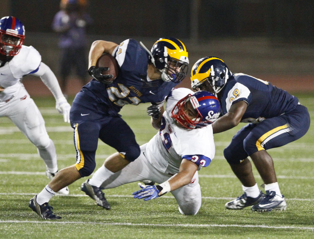Bellevue, Wash., has won 63 consecutive games, the most of any of the Super 25 ranked teams.  (AP Photo/The Daily Breeze, Don Boomer)