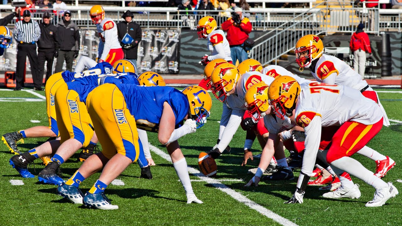 Loyola Blakefield and Calvert Hall College face off in M&T Bank Stadium each Thanksgiving —YouTube