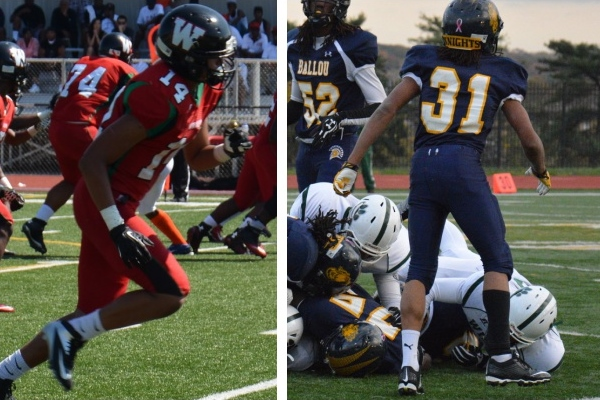 H.D. Woodson and Ballou will play in the 2014 Turkey Bowl on Thursday at Eastern High School. Photo: Erin Thacker