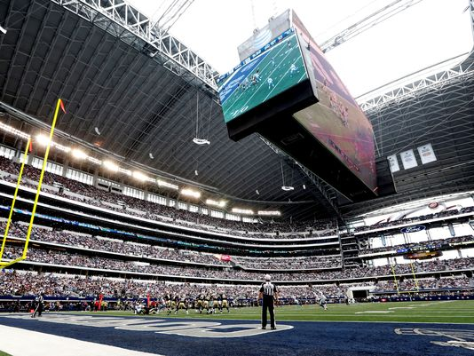 Cowboys Stadium hosted more fans for the Texas state football championships than any bowl game or the average college football game in 2014 — Associated Press