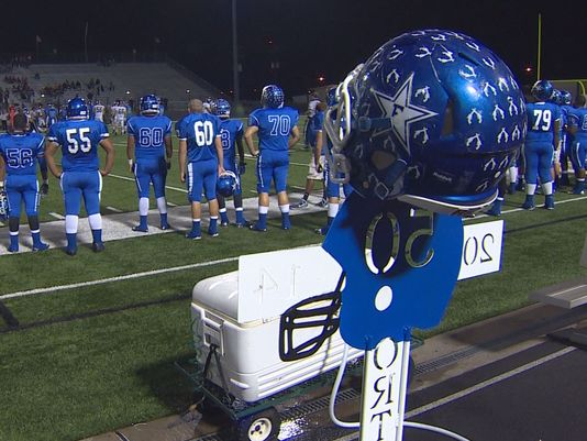 For the town of Edna and their Cowboys, it's no longer just about winning, even though that's the best way to cope with unspeakable loss. (Photo: KHOU 11 Sports)
