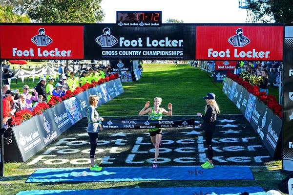 Anna Rohrer of Penn (Mishawaka, Ind.) is only the second girls winner to win two Footlocker Nationals in non-consecutive years.