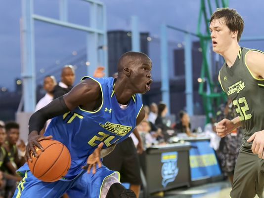 Canadian superstar recruit (by way of Sudan) Thon Maker may be on the verge of shaking up the 2015 rankings as he considers reclassification — Louisville Courier-Journal