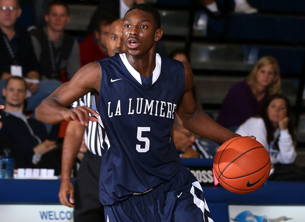 Jalen Coleman-Lands led La Lumiere to a victory against Danube City of Austria at the City of Palms on Sunday. (File photo)