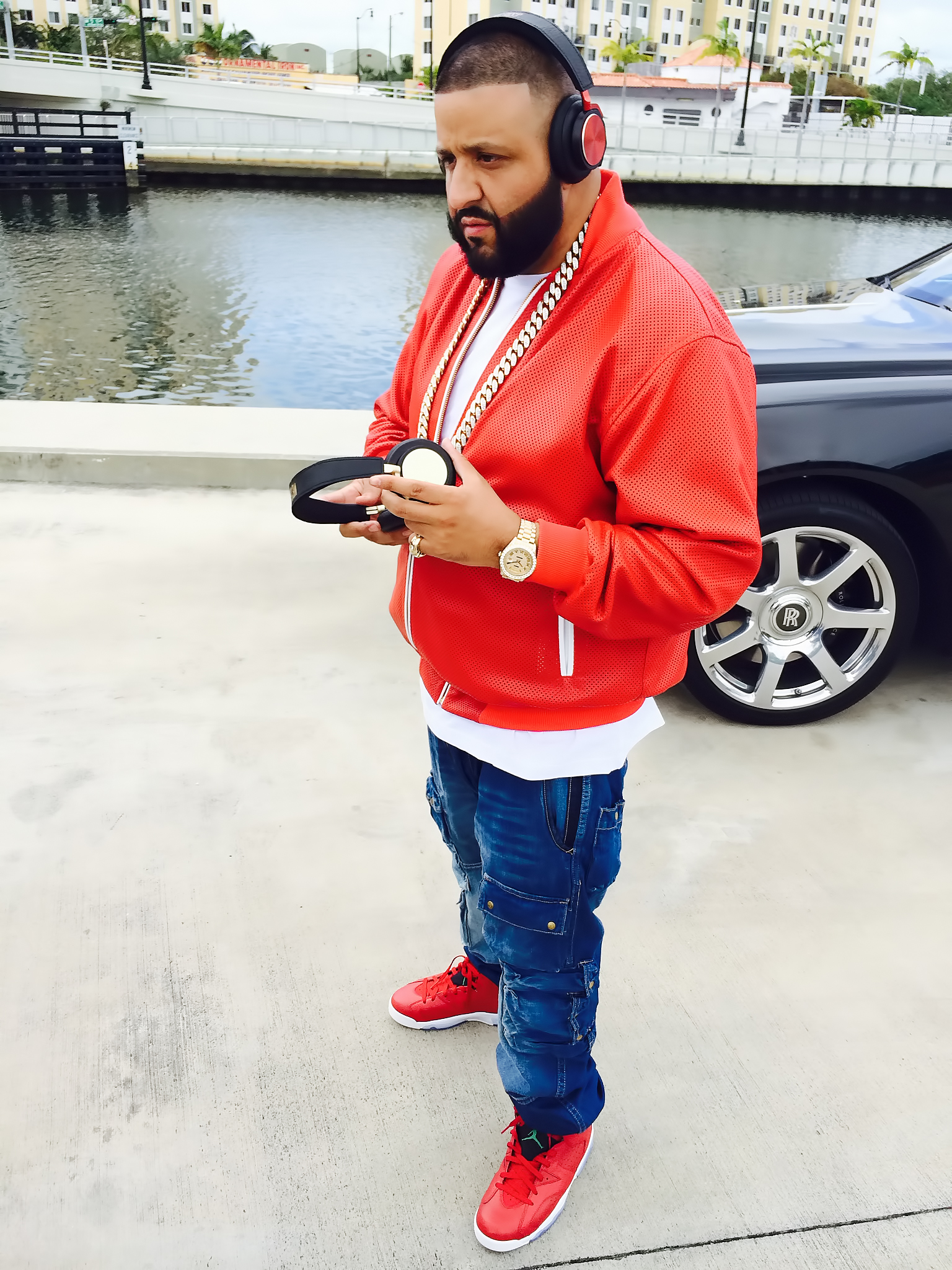 DJ Khaled said he's a gifted shooter on the basketball court. / FYIPR