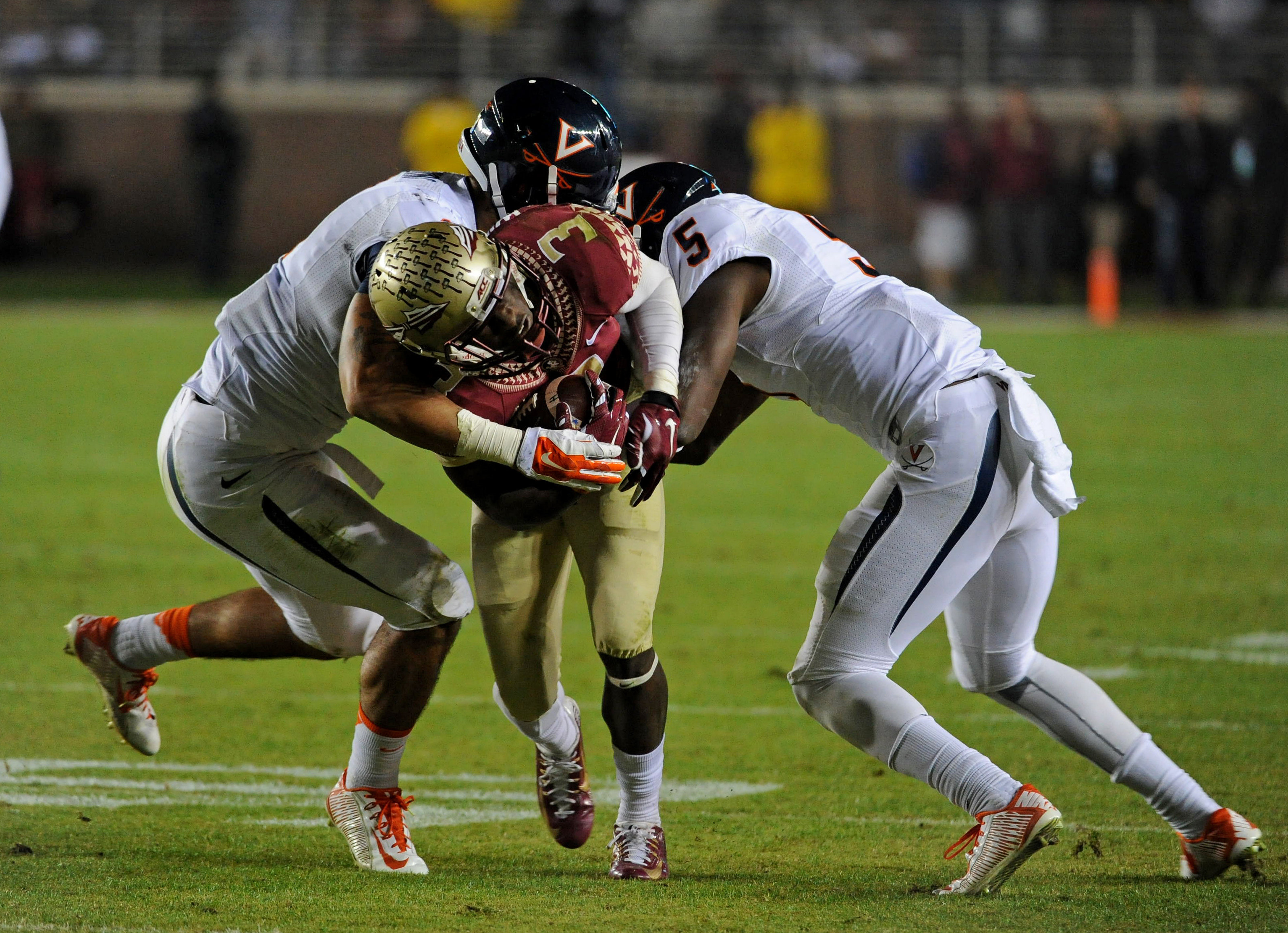 USP NCAA FOOTBALL: VIRGINIA AT FLORIDA STATE S FBC USA FL