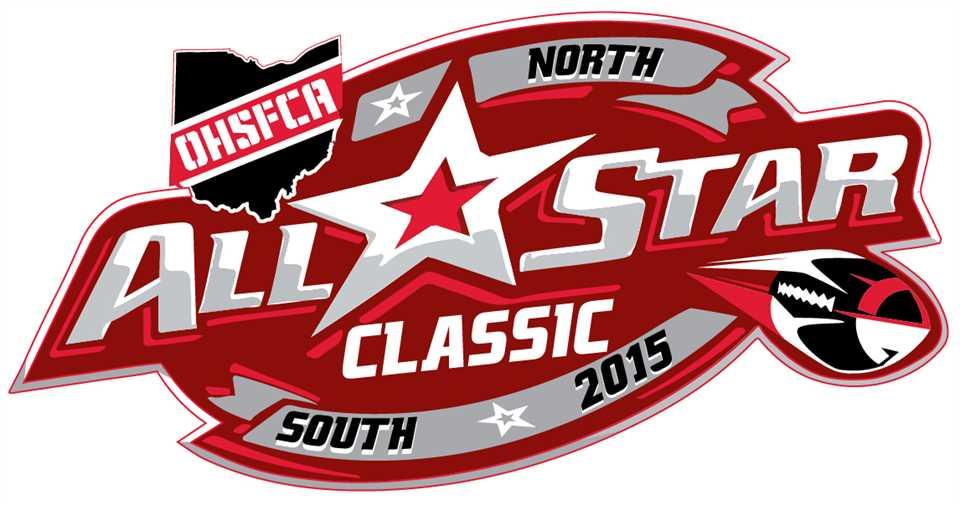 2015 Ohio High School Football Coaches Association North-South Classic logo