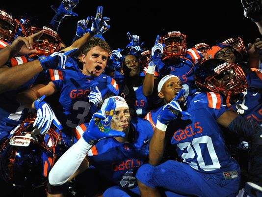 Bishop Gorman went 15-0 and finished the season as the No. 1 team in the Super 25 rankings. USA TODAY Sports photo by Stephen Sylvania.