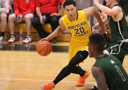 Elite  players such as Ben Simmons of Montverde (Fla.) Academy have become the norm at the Spalding Hoophall Classic. Photo by Kelli Krebs/Fort Myers News-Press