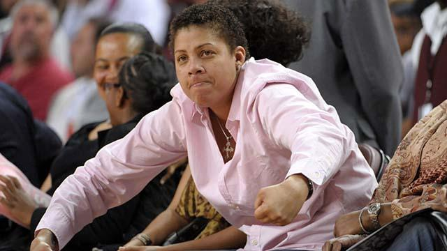 Cheryl Miller, author of the first ever bona fide prep girls basketball super-blowout — USA TODAY Sports
