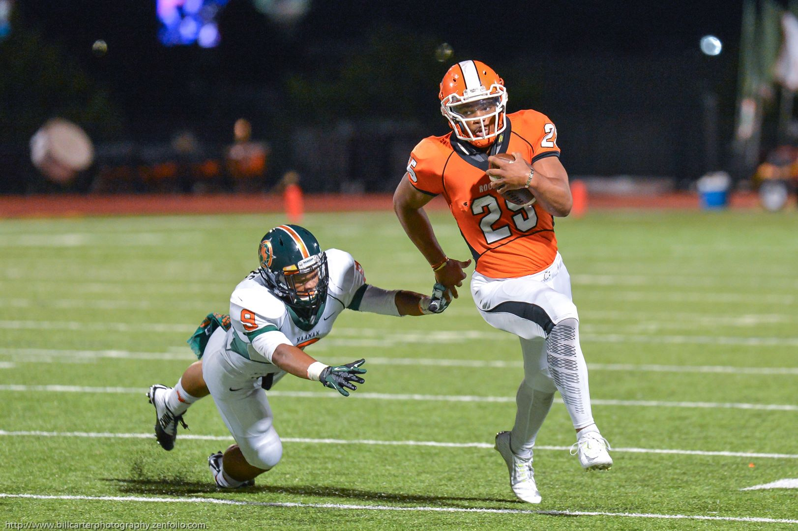 Rockwall High (Texas) four-star running back Chris Warren, son of former NFL star Chris Warren, will announce his college decision among Texas, Texas Tech, Washington and Oklahoma State. Photo courtesy of Fran Webb