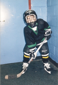 Teets, who started playing hockey at age 6, said the sport pushed him throughout his rehab.  Photo courtesy of the Teets family