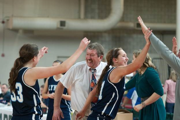 Former Lynden Christian girls basketball coach Curt De Haan was named a National Coach of the Year for his 772-149 record and coaching philosophy that embraced the team first. Courtesy of Lynden Christian School.