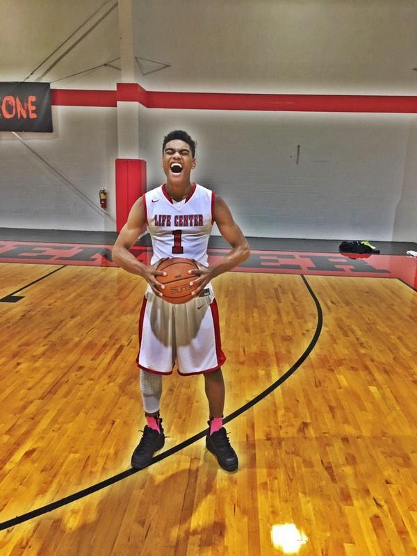 Malik Ellison had 28 points to lead Life Center Academy to a win over Orangeville Prep Sunday at the Spalding Hoophall Classic.