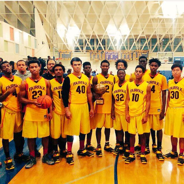Unbeaten Fairfax (Los Angeles) takes on City Section rival Westchester (Los Angeles) tonight. Twitter photo.