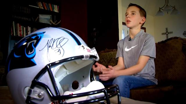 Cade Pope wrote to each NFL owner about why he should be a fan of their team, but only the Panthers responded — Twitter