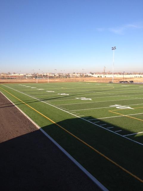 Jefferson Academy new turf field