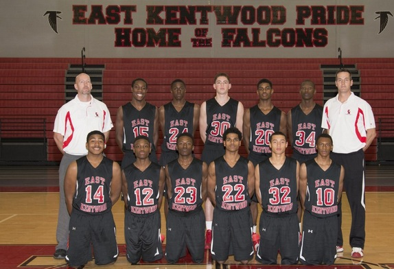 East Kentwood's basketball team takes center stage as the Game of the Day on Jan. 13 — EK Basketball via Facebook