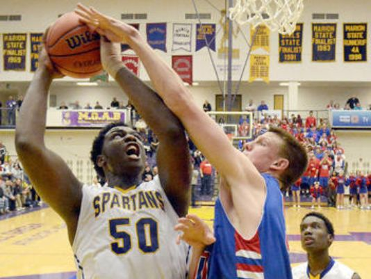 Caleb Swanigan's jump hook is unstoppable.