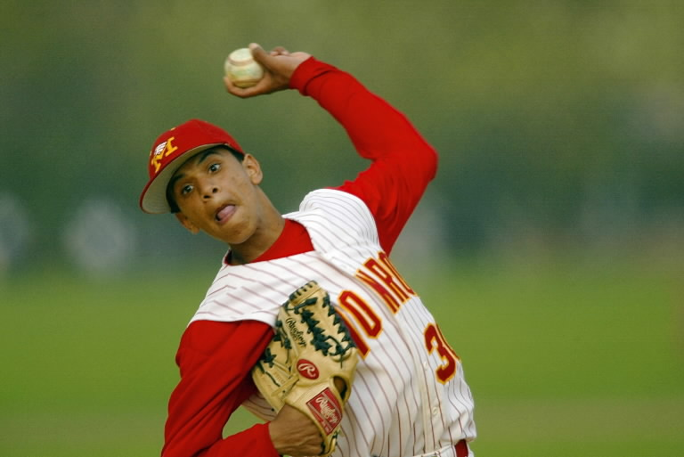 Danny Almonte was too old to be playing Little League as a 14-year-old in 2001. USA TODAY Sports photo by Robert Deutsch, USA TODAY Sports